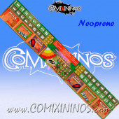 34 mm Neoprene Dugout Extra-Long Narrow Model for 2 Players - Comixininos