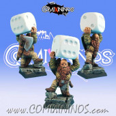 Dwarves - Mad Dayn Dwarf nº 2 - Scibor Miniatures