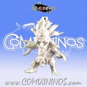 Goblins - Shaman Magma Goblin - Punga Miniatures
