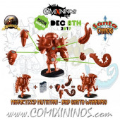 Evil - Set of Magnetized Mutations for Bad Santa Warriors and Doctor Marcof - Labmasu