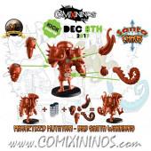 Evil - Set of Magnetized Mutations for Bad Santa Warriors and Doctor Marcof - Labmasu