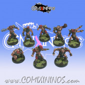 Evil Pact - Set of 8 Marauders Skull Devils - Goblin Guild