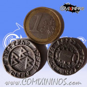 Fantasy Football Metal Flipping Coin - Adisart
