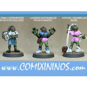 Orcs - Orc Coach and Nurses Set of 3 - Shadowforge
