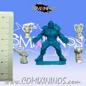 Set of 4 Fantasy Football Mini-Trophies - Meiko Miniatures