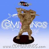 Big Guys - Robert Le Mino Minotaur of Evil Pact Team - Uscarl Miniatures
