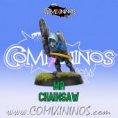 Goblins - Goblin nº 9 Mr Chainsaw of GOBham Asylum Team - Labmasu