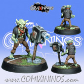 Goblins / Orcs - Mr Gobbo Camera Goblin - NAW Miniatures