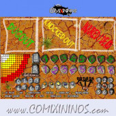 Mud Plastic Dugout with 3 Sections - Comixininos
