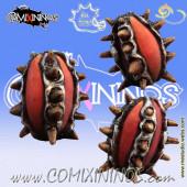 Multiple Spikes Football - Meiko Miniatures
