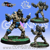 Undead / Egyptian - 45 mm Mummy nº 2 - Meiko Miniatures