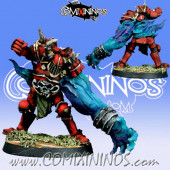 Evil - Mutated Evil Warrior with Strong Arm - Meiko Miniatures