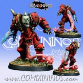Evil - Mutated Evil Warrior with Crab Claw - Meiko Miniatures