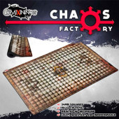 Granite Stadium Neoprene Pitch with 34 mm Squares - Chaos Factory
