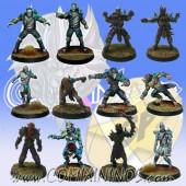 Necromantic - Team of 12 Players - SP Miniaturas