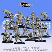 Necromantic - Resin Games of North Dead Team of 16 Players - Fanath Art