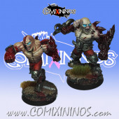 Necromantic - Mold Casted Set of 2 Eternals Golems - RN Estudio