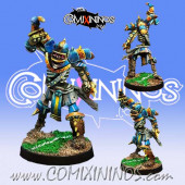 Egyptian / Undead - Nek Skeleton Dagger Star Player - Willy Miniatures