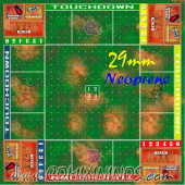 29 mm Neoprene Mousepad Pitch Crossroad 4 Players / Death Bowl - Comixininos