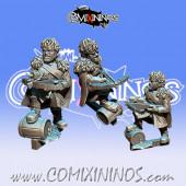 Dwarves / Halflings - Metal GoN Tilyon Nordic Dwarf Bombardier - Fanath Art
