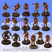 PRE-ORDER - Spartan Norse Txarli Team of 16 Players - Meiko Miniatures