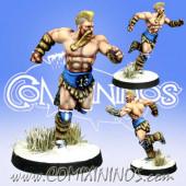 Norses - Resin Norse Runner nº 2 - Meiko Miniatures