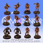 Norses - Spartan Norse Txarli Team of 12 Players - Meiko Miniatures