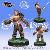Norses - RevaBowl Norse Thrower - Meiko Miniatures