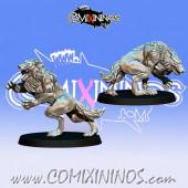 Norses - Set of 2 GoN Living Wolves - Fanath Art