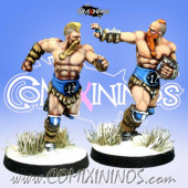 Norses - Resin Set of 2 Norse Runners - Meiko Miniatures