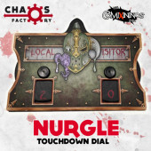 Nurgle Rotten Fantasy Football Score Board - Chaos Factory