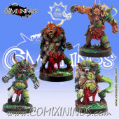 Rotten - Set of 4 Pestigors - Meiko Miniatures