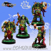 Rotten - Set of 4 Rotten Warriors - Meiko Miniatures