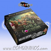 Rotten - Deluxe Boxed Lords of Corruption Team of 15 Players with Winged Beast - Willy Miniatures