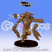Big Guys - Raymond PoingCarre Ogre of Evil Pact Team - Uscarl Miniatures