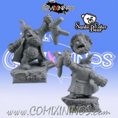 Ogres  - Ogre Santa Bear Eater - Scibor Miniatures