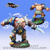 Big Guy - Gregor Ogre Star Player - Meiko Miniatures