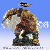 Big Guy - Metal Ogre of Lions of Fire Human Team - SP Miniaturas