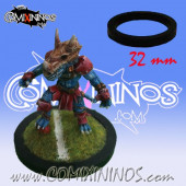 Skill Marker - Black Rubber Deluxe Ring for 32 mm Bases - Comixininos