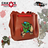 Orc Leather Dice Bag Delux - Chaos Factory