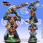 Orcs - Leatherface Orc with Texas Chainsaw - Meiko Miniatures
