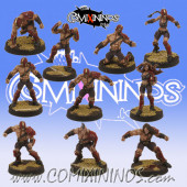Vampires - Set of 10 Thralls - Willy Miniatures