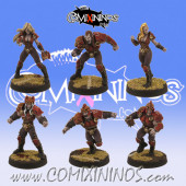 Vampires - Set of 6 Vampires - Willy Miniatures