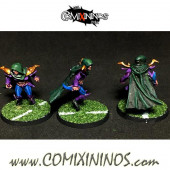 PAINTED Dark Elves - Dark Elf Assassin nº 2 - Meiko Miniatures