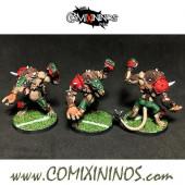 PAINTED Ratmen - Rat Ogre nº 2 Poncho Star Player - Meiko Miniatures