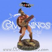 Norses / Human - Pantelis Spartan Txarli Chainsaw Star Player - Meiko Miniatures