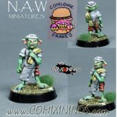 Goblins / Orcs - Parrilla Grill Goblin - NAW Miniatures