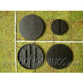 Set of Three 40 mm Big Guys Bases