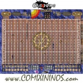 29 mm Pirate Plastic Gaming Mat with Parallel Dugouts - Comixininos