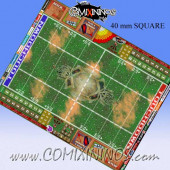 40 mm Super Large Skulls Plastic Gaming Mat for Big Guys - Comixininos